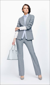 Look your best in a grey suit