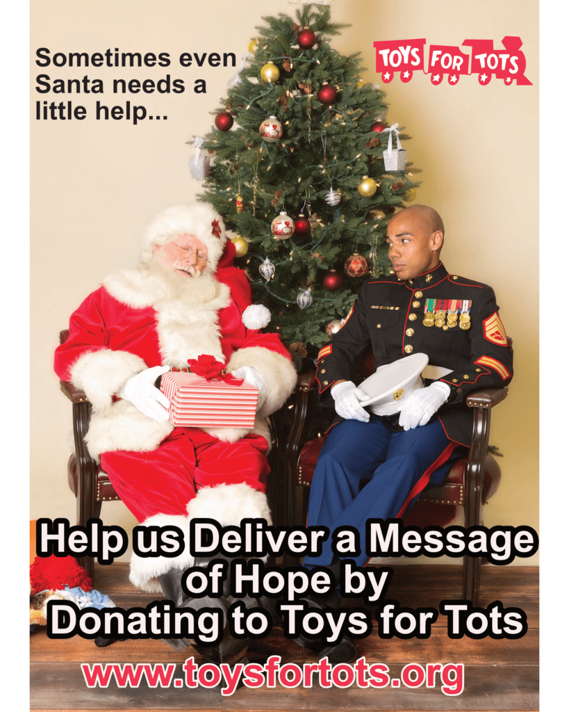 Westbank collects for Toys for Tots