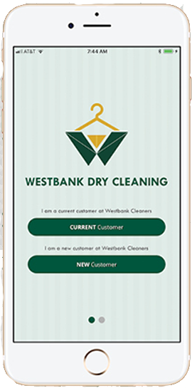 Westbank App - Westbank Dry Cleaning