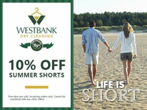 Westbank Summer Shorts Coupon