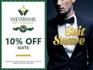 Westbank 10% Coupon for Suits