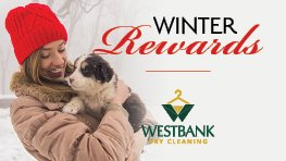 Westbank Dry Cleaning Winter Rewards